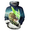 Image of Overwatch 3D Allover Printed Hoodie 1