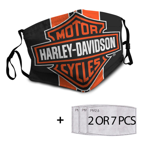 Harley Reusable Mask with PM2.5 Filter - 1