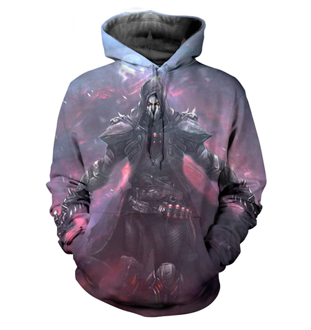 Overwatch 3D Allover Printed Hoodie 3