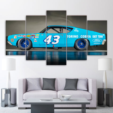 5Pcs Richard Petty Canvas 1