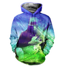 Image of Buckethead 3D Allover Printed Hoodie 3