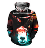 Image of Slipknot 3D Allover Printed Hoodie 4