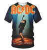 Image of AC/DC 3D Allover Printed 1