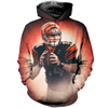Image of Andy Dalton 3D Allover Printed Hoodie 1