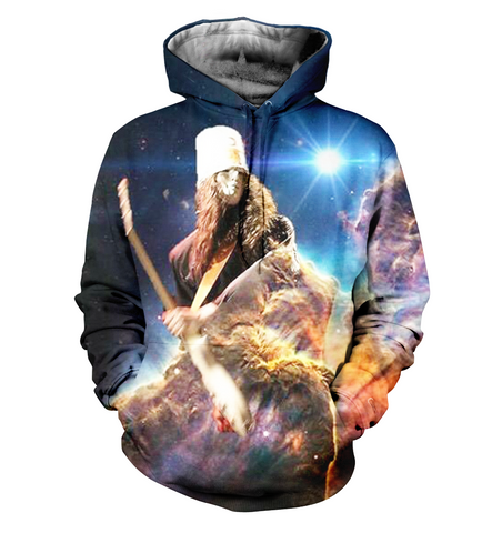 Buckethead 3D Allover Printed Hoodie 2
