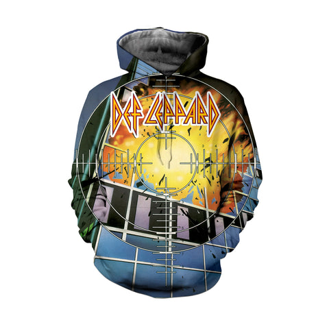 Def Leppard 3D Allover Printed 1