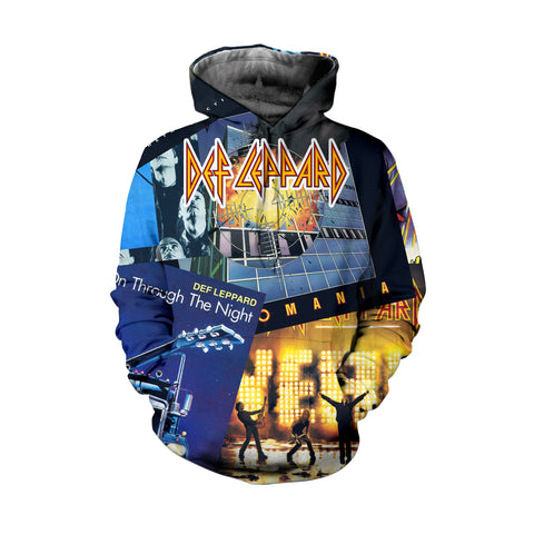 Def Leppard 3D Allover Printed 5