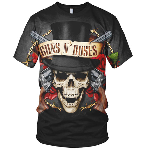 Guns N' Roses 3D Allover Printed 5