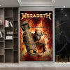 Image of 3Pcs Megadeth Canvas 1