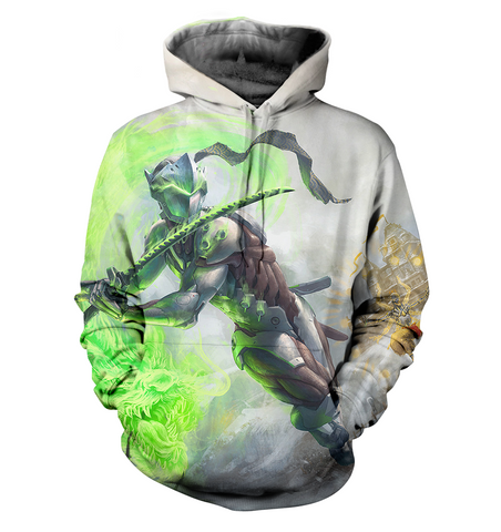 Overwatch 3D Allover Printed Hoodie 5