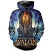 Image of Timo Tolkki 3D Allover Printed Hoddie 1