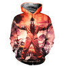 Image of Slipknot Allover Printed Hoodie 5