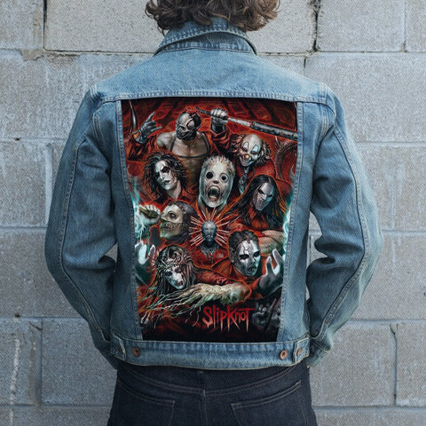 Slipknot Jean Jacket 1