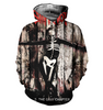 Image of Slipknot Allover Printed Hoodie 6