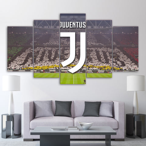 5Pcs Juventus Canvas 1