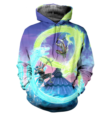 Overwatch 3D Allover Printed Hoodie 6