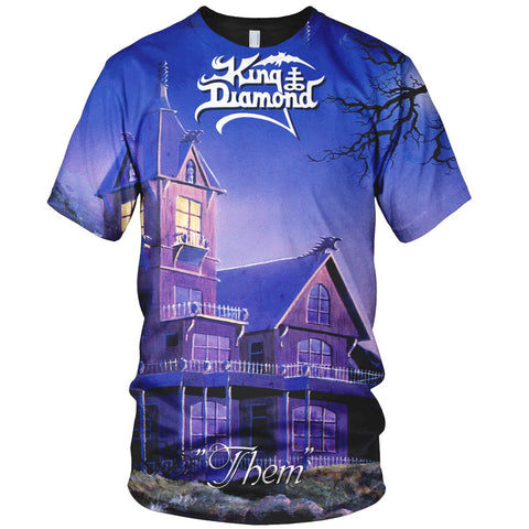 King Diamond 3D Allover Printed 5