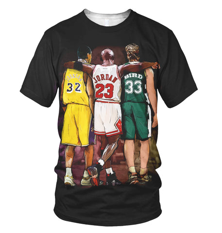 Basketball Legends 3D Allover Printed 2