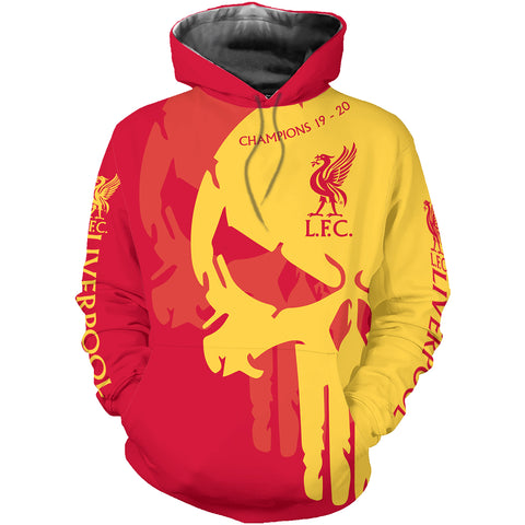 Liverpool Champions 2020 3D Allover Printed 2