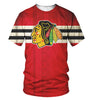 Image of Chicago Blackhawks 3D Allover Printed 2