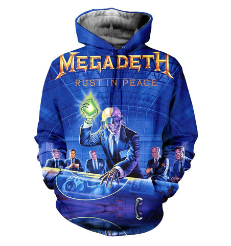 Megadeth 3D Allover Printed 2