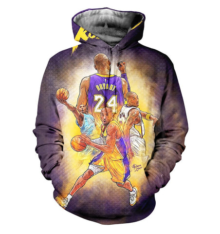 Kobe Bryant 3D Allover Printed 2