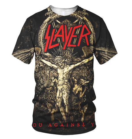 Slayer 3D Allover Printed 2