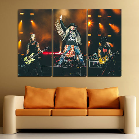 3Pcs Guns N' Roses Canvas 2