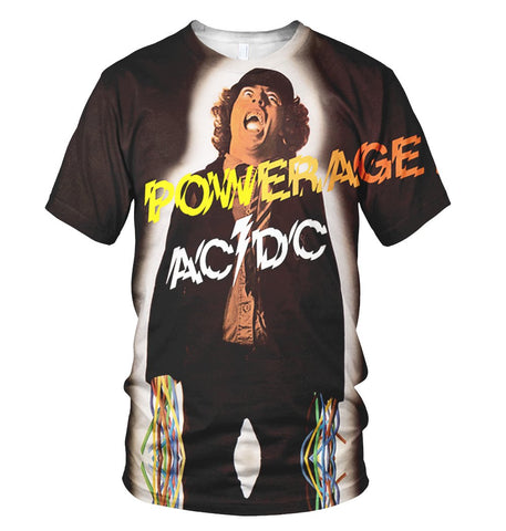 AC/DC 3D Allover Printed 2