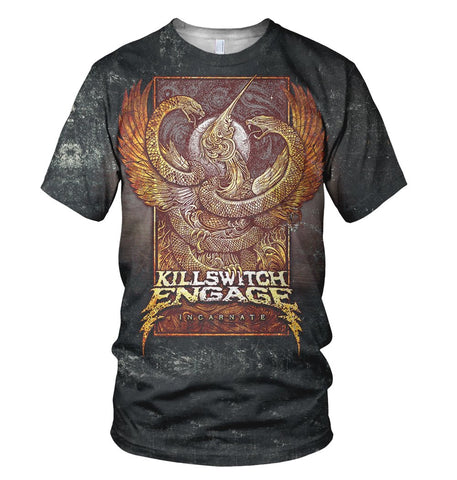 Killswitch Engage 3D Allover Printed 2