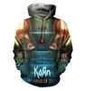Image of Korn 3D Allover Printed 2