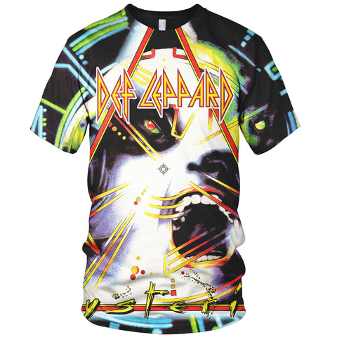 Def Leppard 3D Allover Printed 2