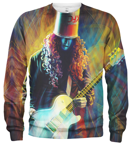 Buckethead 3D Allover Printed Hoodie 1