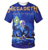 Image of Megadeth 3D Allover Printed 2