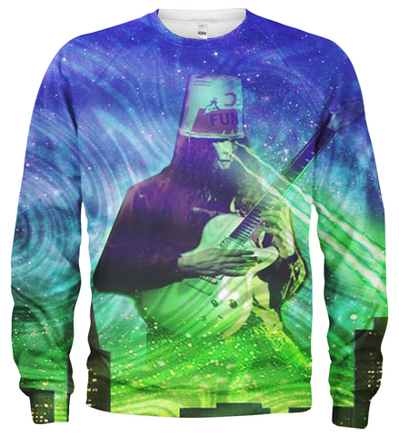 Buckethead 3D Allover Printed Hoodie 3