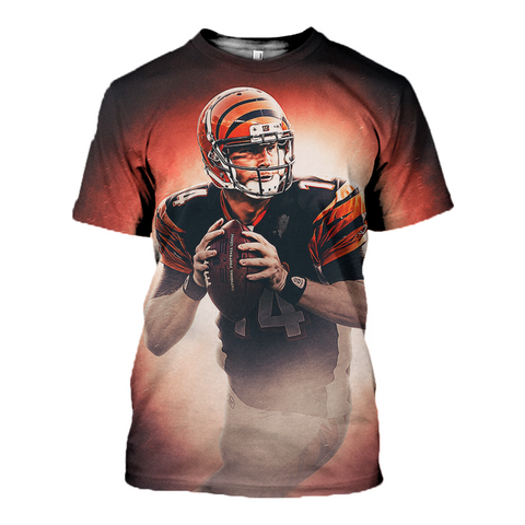 Andy Dalton 3D Allover Printed Hoodie 1