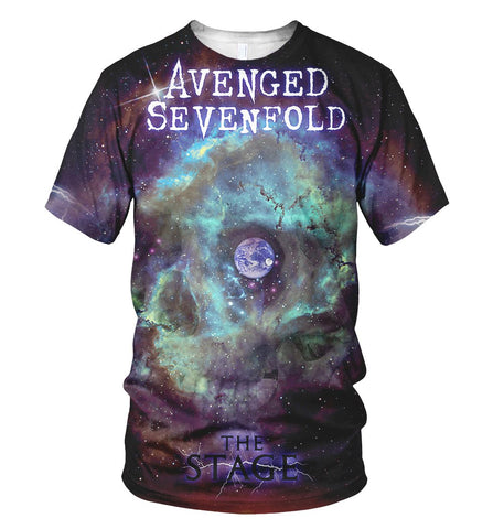 Avenged 3D Allover Printed 2