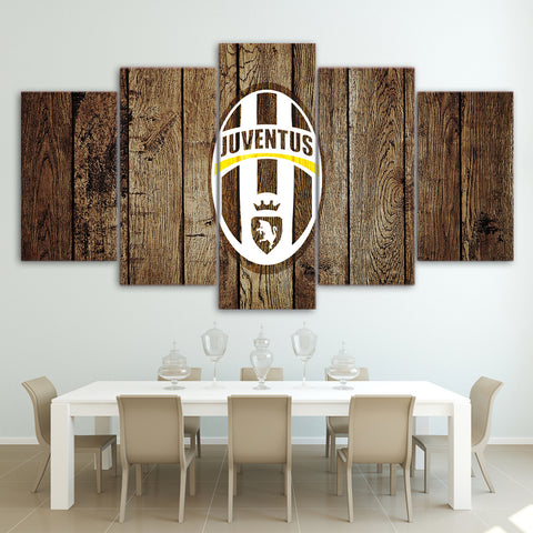 5Pcs Juventus Canvas 2