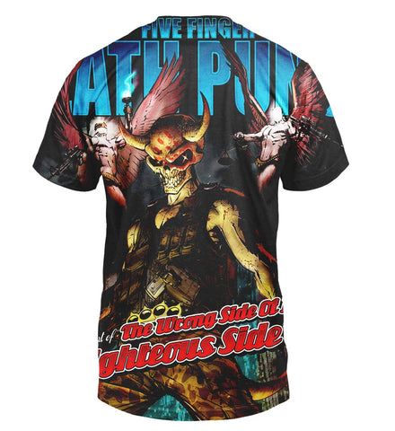 Five Finger Death Punch 3D Allover Printed 2