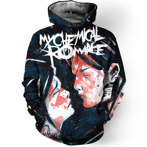 My Chemical Romance 3D Allover Printed 3