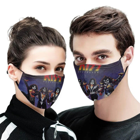 Kiss Reusable Mask with PM2.5 Filter - 3