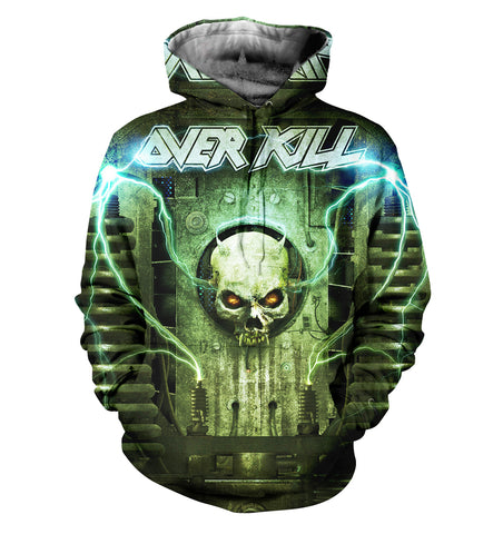 Over Kill 3D Allover Printed 3