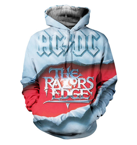 AC/DC 3D Allover Printed 3