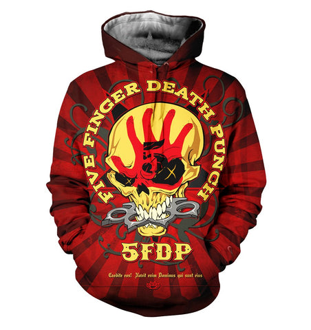 Five Finger Death Punch 3D Allover Printed 3