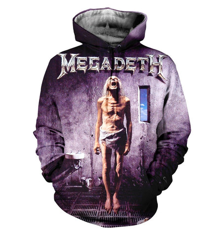 Megadeth 3D Allover Printed 3
