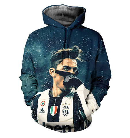 Juventus 3D Allover Printed 3