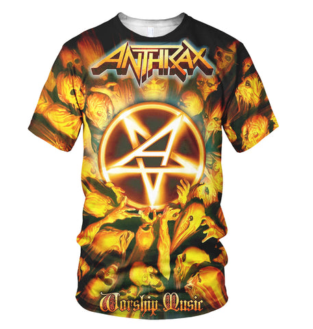 Anthrax 3D Allover Printed 3