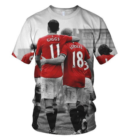 Manchester United 3D Allover Printed 3
