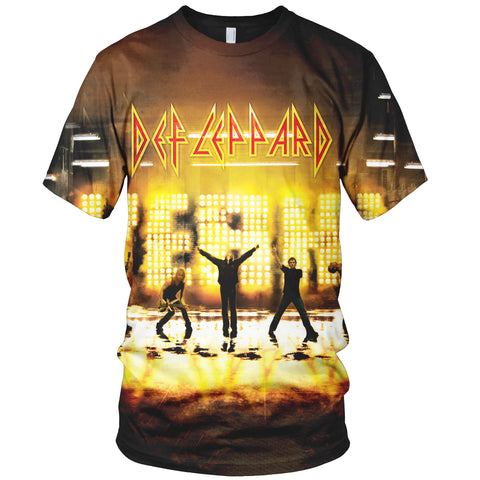Def Leppard 3D Allover Printed 3