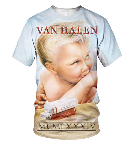 Van Halen 3D Allover Printed 3